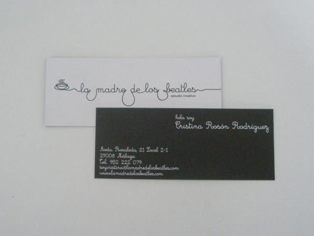 hola soy, la tarjeta de Cristina